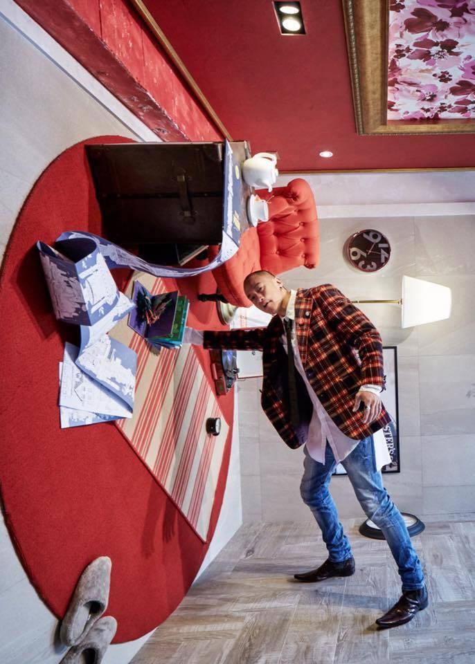 何潤東投資開設SPA館斥巨資裝潢,但也不敵疫情宣布收攤。圖/摘自臉書
