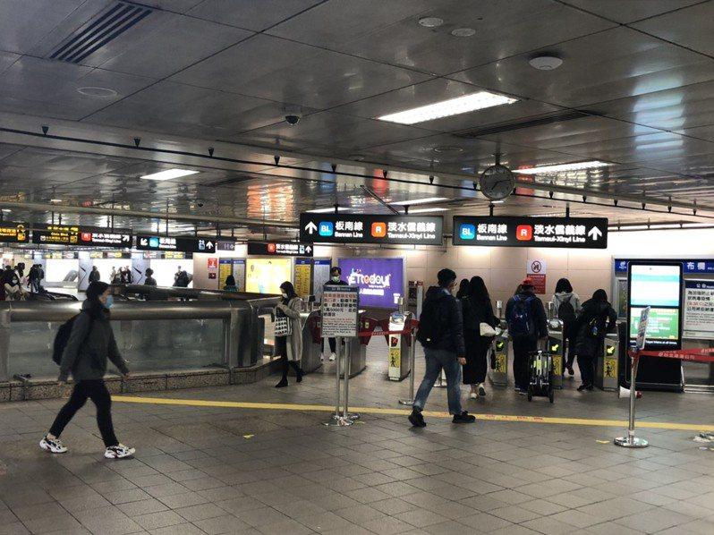 捷運台北車站。記者李隆揆/翻攝