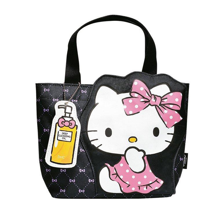 消費滿2,500元,送Hello Kitty愛逛街手提袋。圖/DHC提供