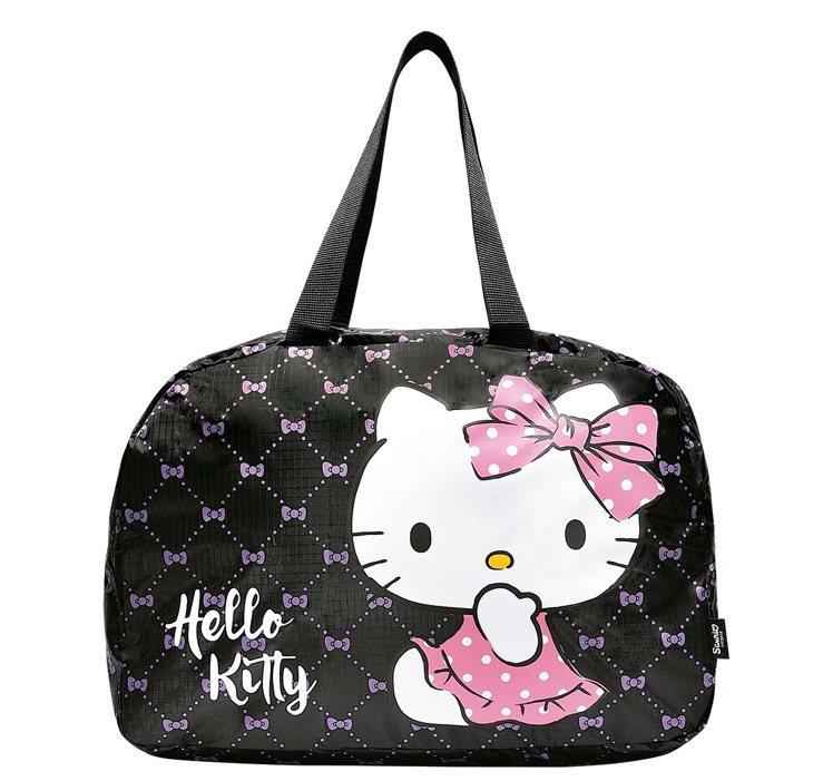 消費滿5,000元,送Hello Kitty購物折疊包。圖/DHC提供
