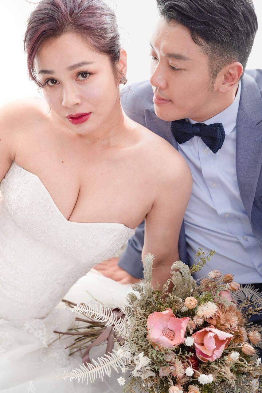 段鈞豪和阿美族女神Gina結婚。圖/逆光電影提供