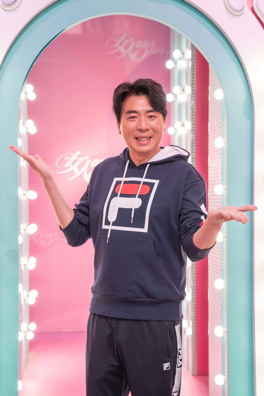 梁赫群日前錄TVBS「女人我最大」。圖/TVBS提供