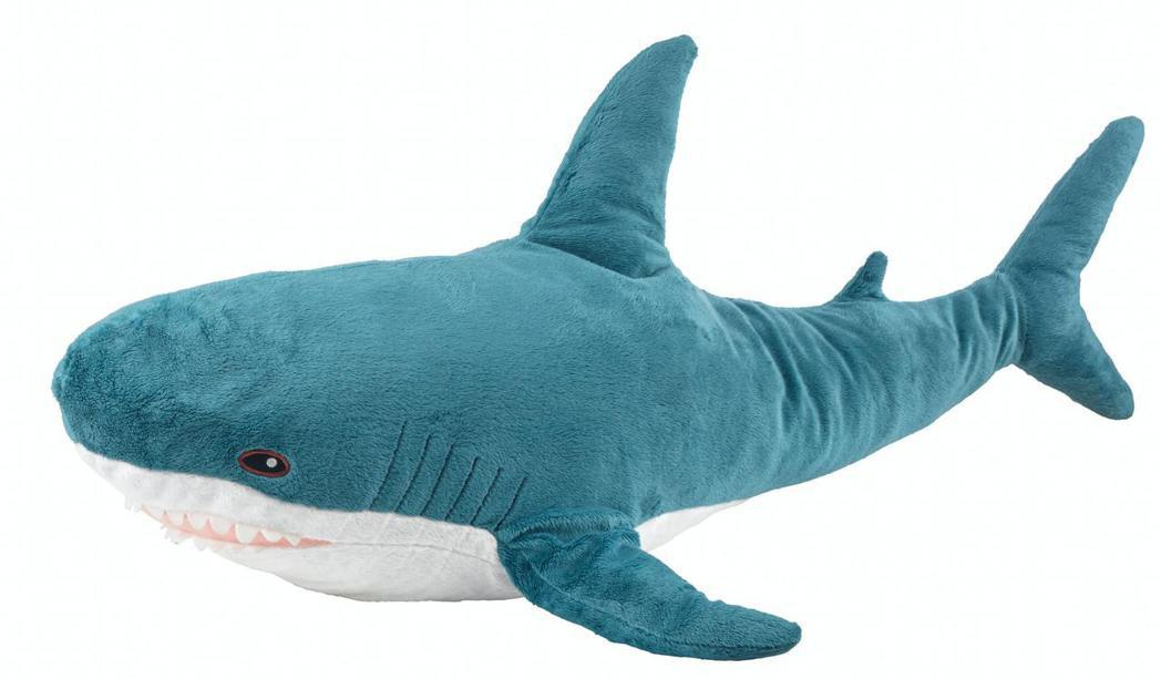 TOP 1:BLÅHAJ鯊魚,599元。圖/IKEA提供