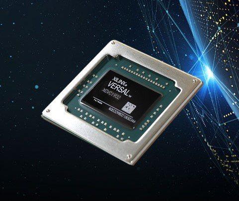 三星5G設備將採用賽靈思Versal晶片。圖/擷自Xilinx官網