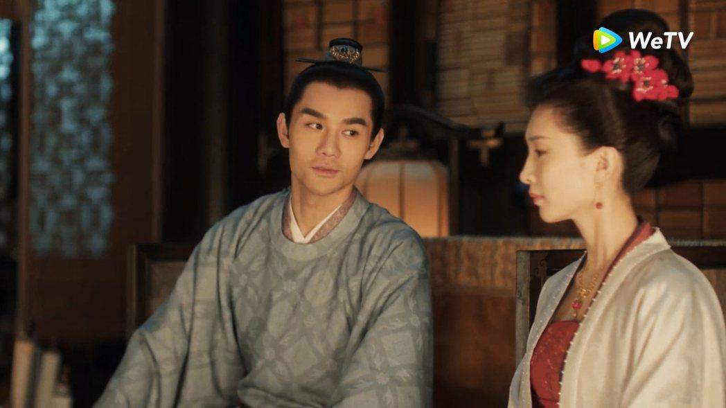 王凱(左)與江疏影在「清平樂」中飾演帝后CP。圖/WeTV提供