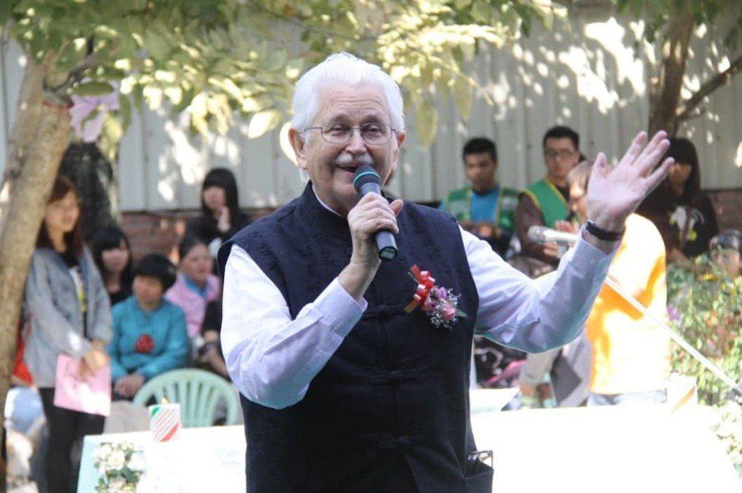 台南天主教德蘭啟智中心創辦人甘惠忠神父今天在美國去世。圖/德蘭啟智中心提供