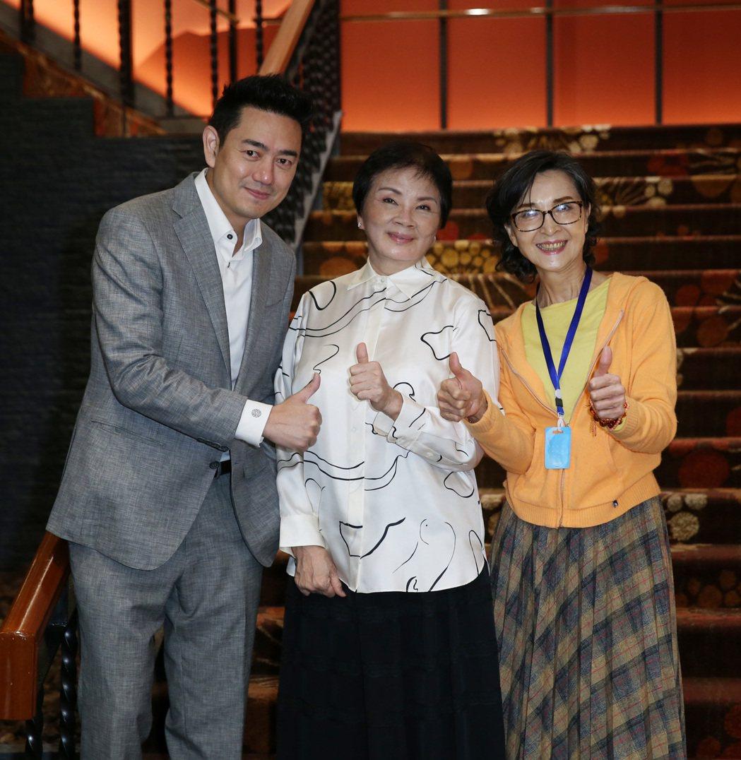 製作人楊佩佩、陳俊生、陳淑麗。記者曾吉松/攝影
