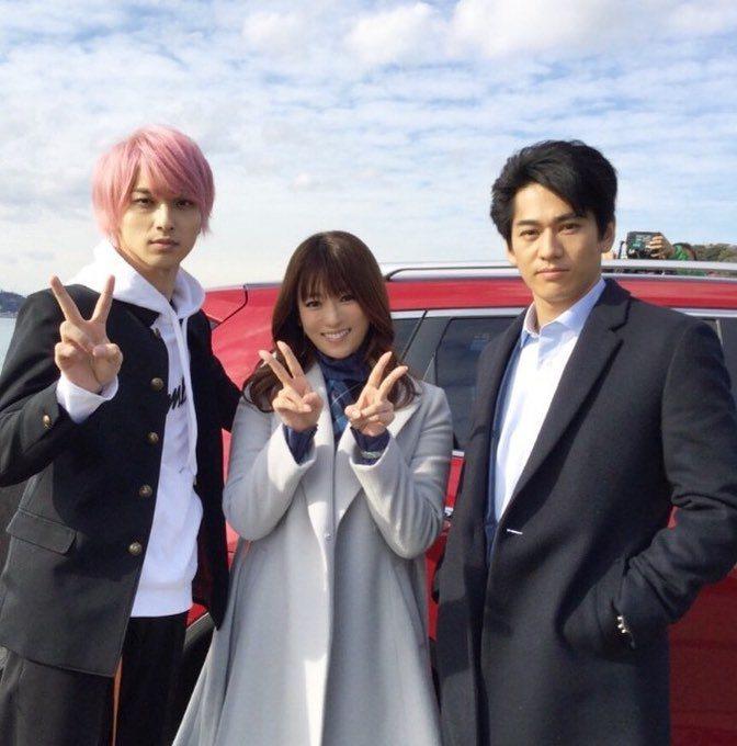 永山絢斗(右)在《初戀那天所讀的故事》裡飾演單戀深田恭子的表哥。圖/擷自IG