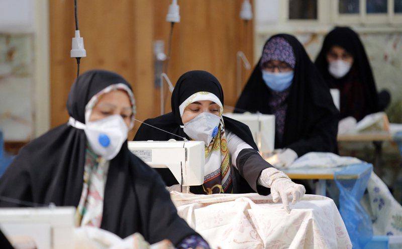 伊朗全國確診病例總數增至9萬481例。 歐新社