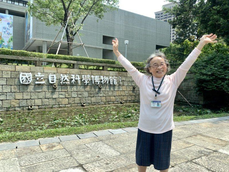78歲的劉益丞在國立自然科學博物館擔任志工24年「以館為家」,累積時數13612...