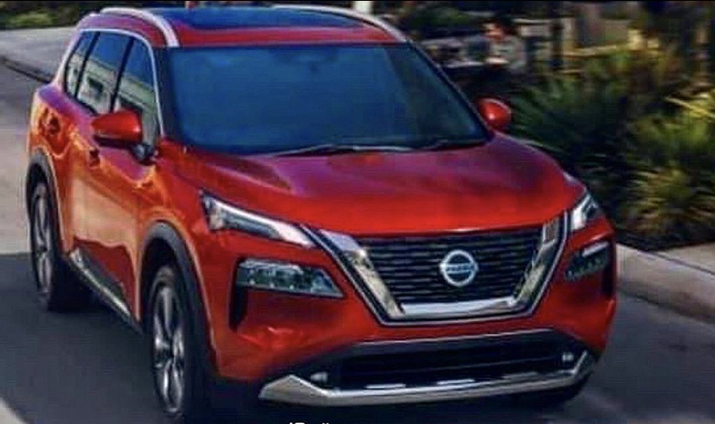 大改款Nissan X-Trail/Rogue具備更大的V-Motion水箱護罩...