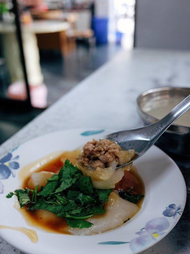 劍潭肉圓王是陳泰銘的口袋名單之一。 圖/黃仕揚 攝影