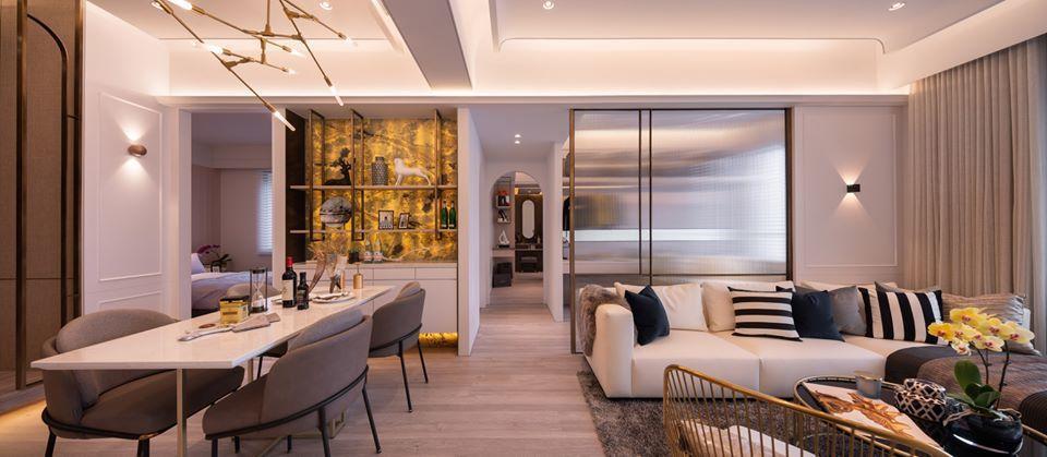 最受歡迎的44坪格局,把室內空間運用到淋漓盡致!圖/長虹建設提供