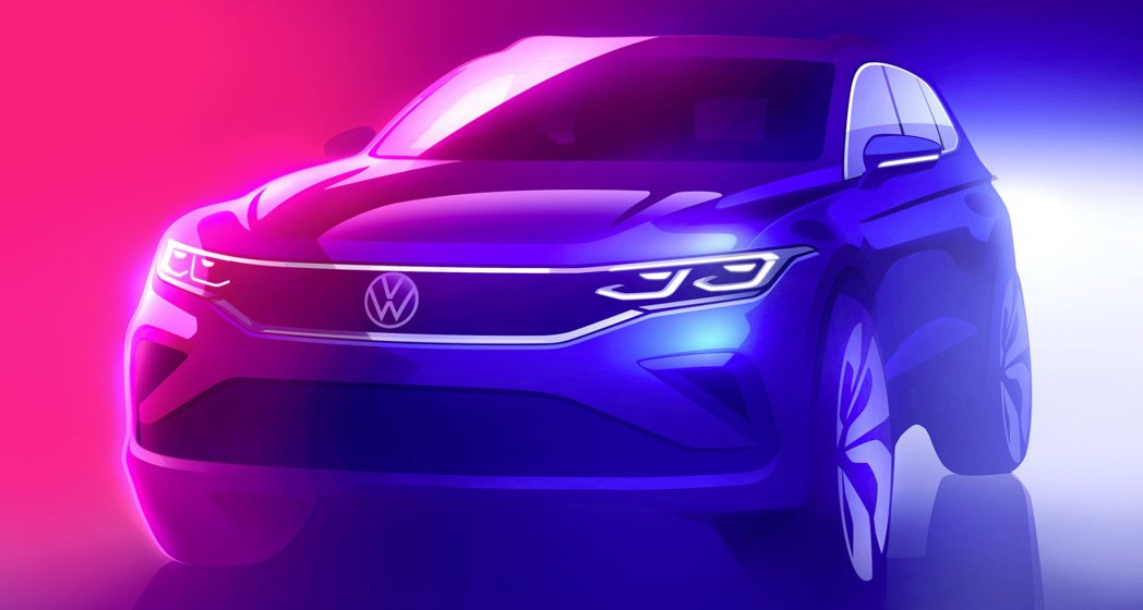 小改款Volkswagen Tiguan預告夏季發表。 摘自Volkswagen
