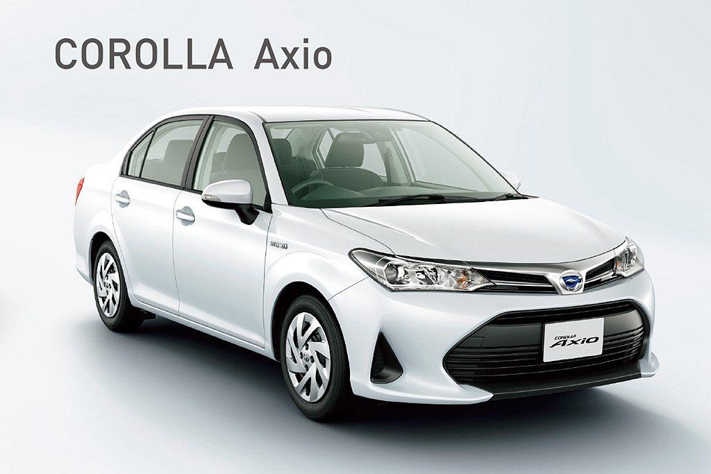 Toyota Corolla Axio房車也已經來到產品銷售末期,但依舊有34....