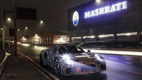 Maserati MC20超跑將搭載馬力超過600匹的雙渦輪V6引擎?
