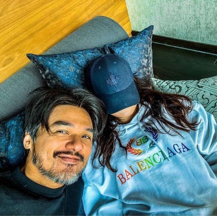 馮德倫秀出愛妻舒淇的合照。圖/摘自IG