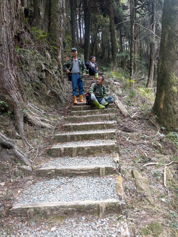神木村通往阿里山的古步道,南投縣爭取到中央補助將修復。南部縣府提供