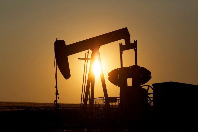 油市示意圖。路透