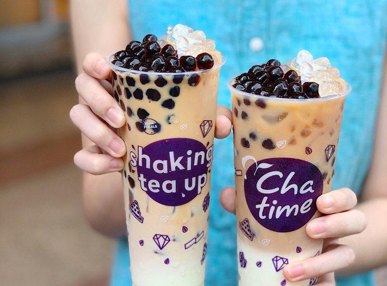 「零確診」日出茶太「太極厚茶拿鐵」第2杯0元。圖/日出茶太提供