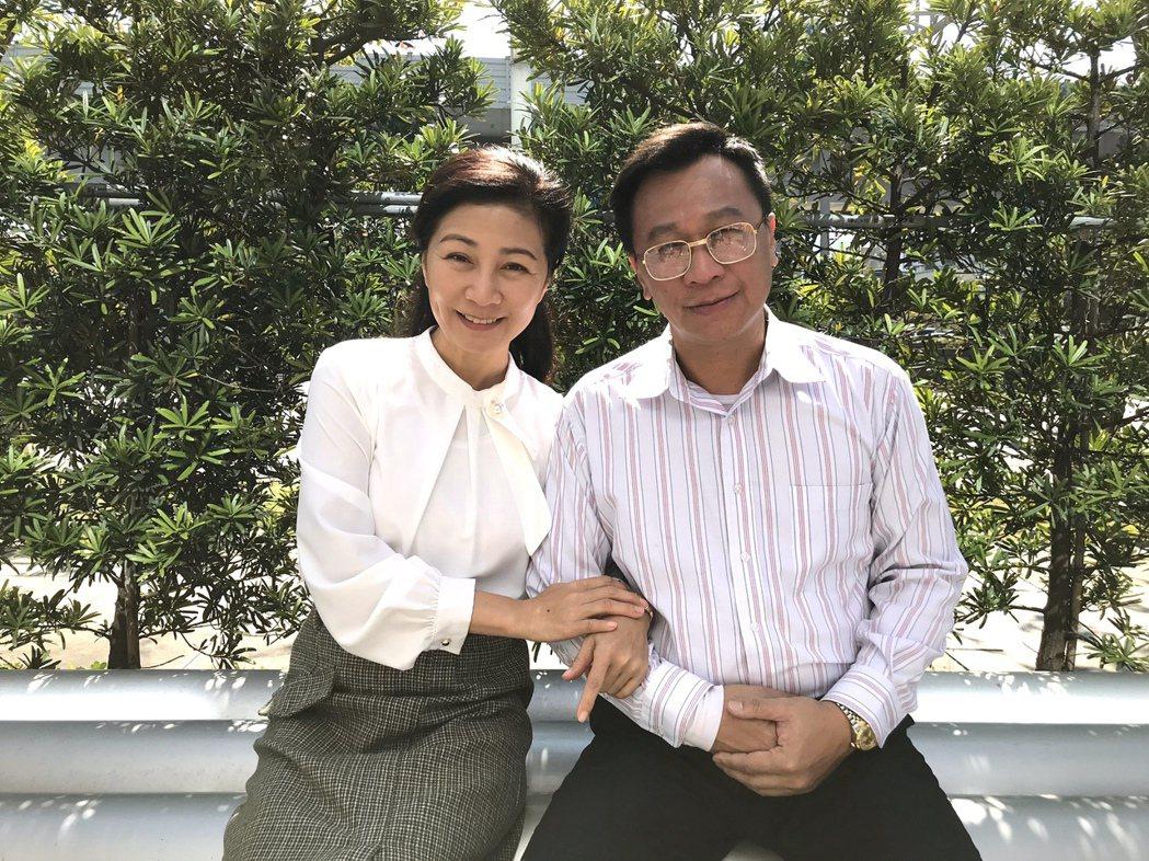 方文琳(左)、游安順時隔35年再次合作。圖/明悅整合行銷工作室提供