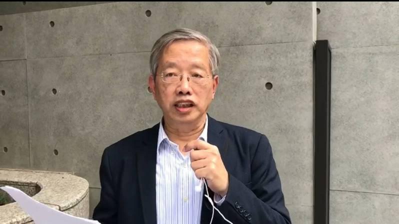 欠1萬8法拍房子暫緩點交,前台大教授陳志龍:緩兵之計。圖/陳志龍提供