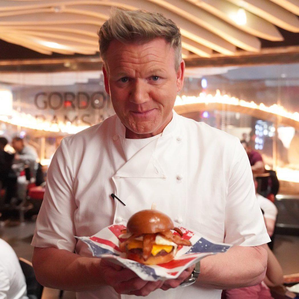 高登拉姆齊是全球電視觀眾熟知的廚神。圖/摘自Instagram