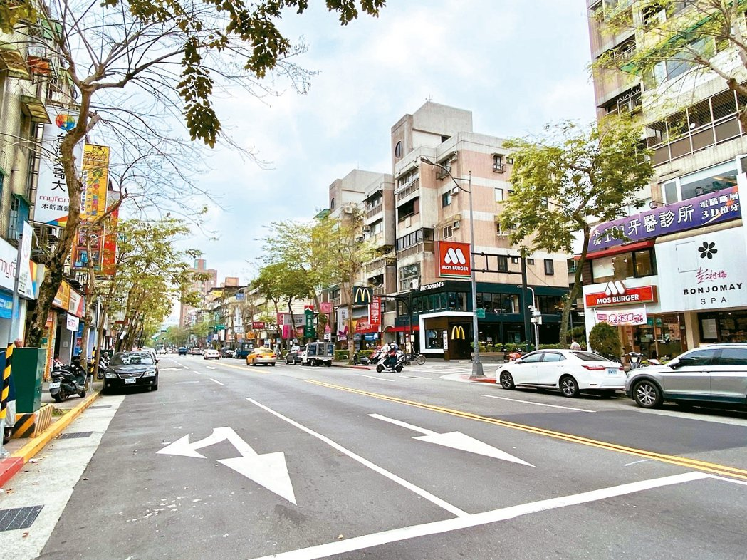 「文山木新商圈」生活機能佳,近年十分受到購屋族歡迎。 記者黃義書/攝影