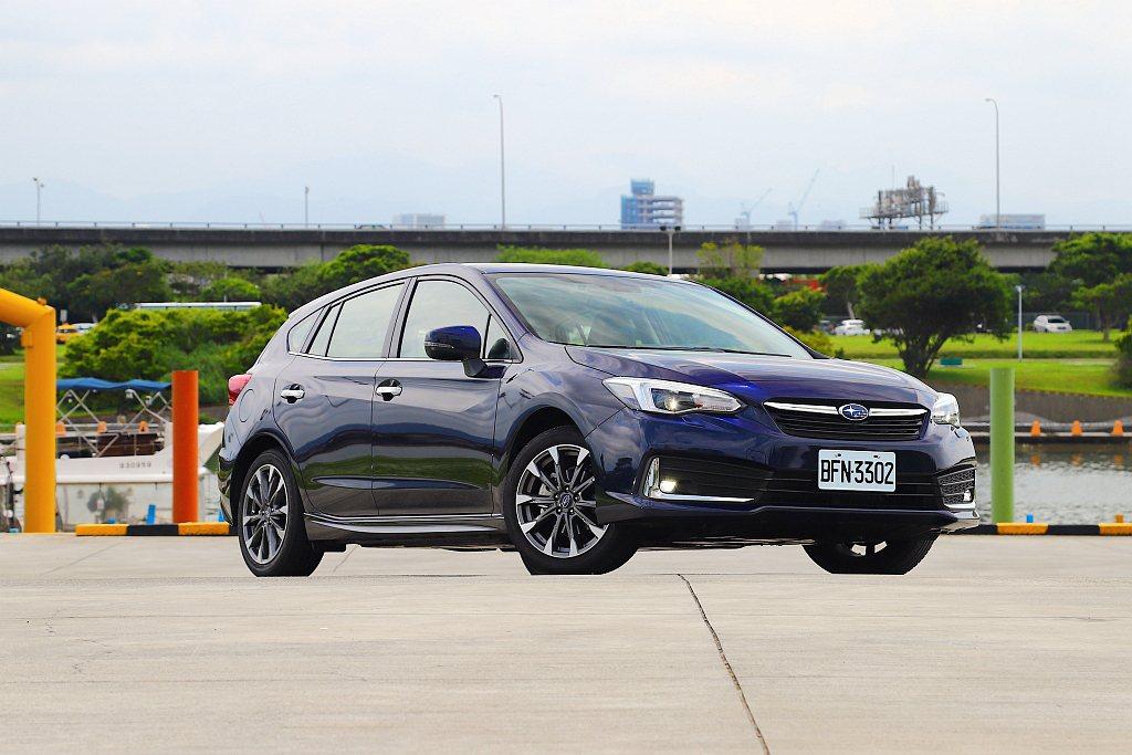 小改款Subaru Impreza抵台開賣,並帶來許多貼心配備進化。 記者張振群...