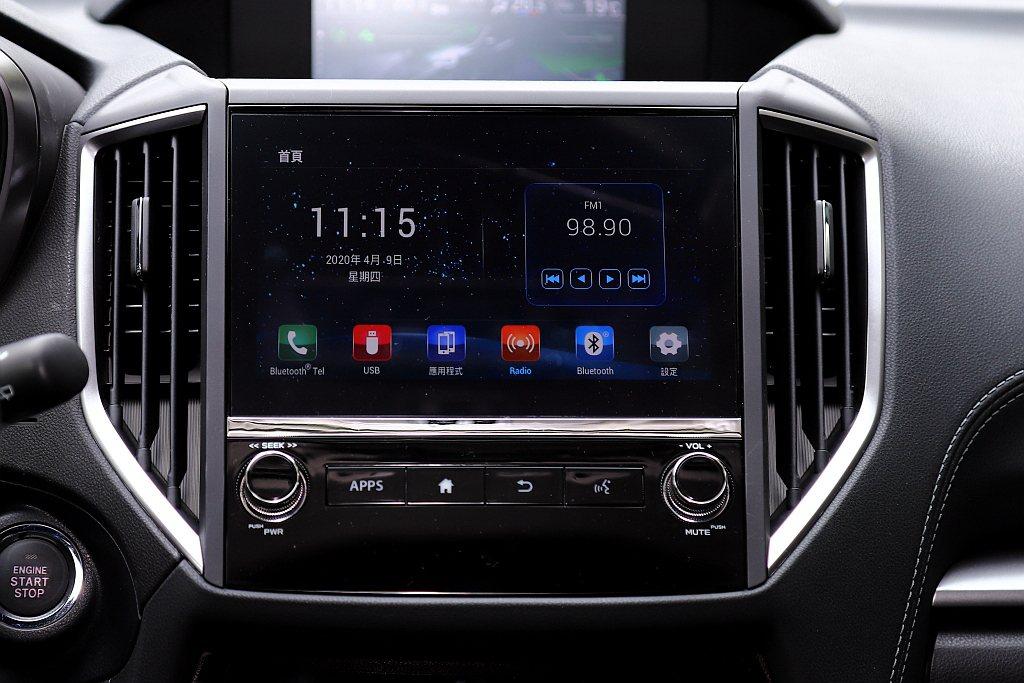 控台螢幕升級為全新8吋智慧影音觸控螢幕並支援Apple CarPlay、Andr...