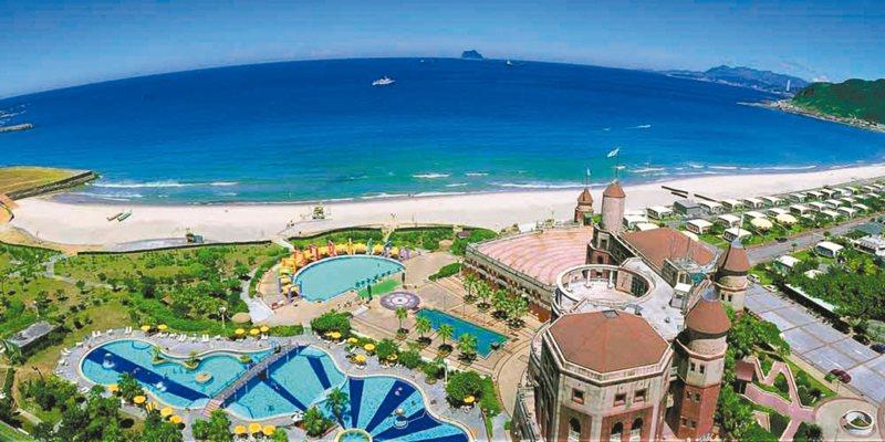 翡翠灣福華飯店將營運到4月底。 圖/翡翠灣福華提供