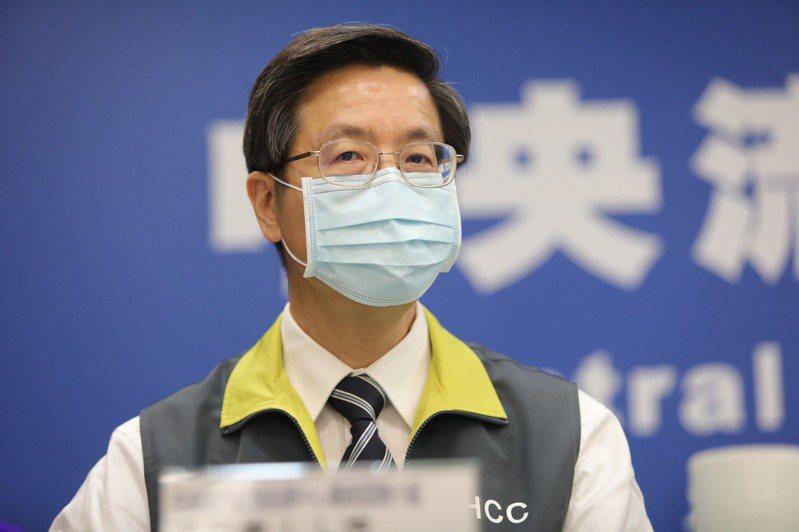 中央流行疫情指揮中心專家諮詢小組召集人張上淳。(中央流行疫情指揮中心提供)中央社