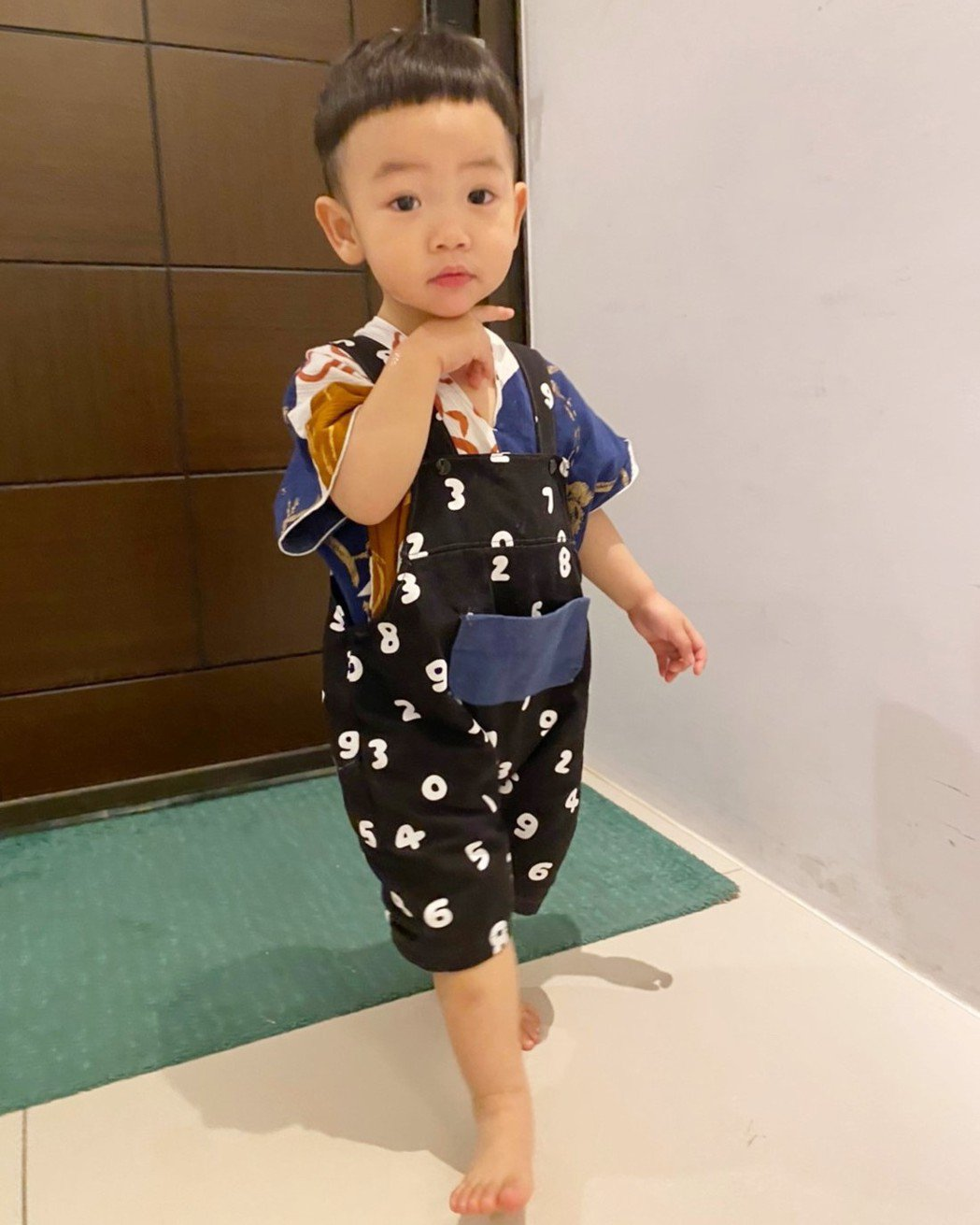 蔡阿嘎的兒子蔡桃貴。 圖/擷自蔡桃貴臉書