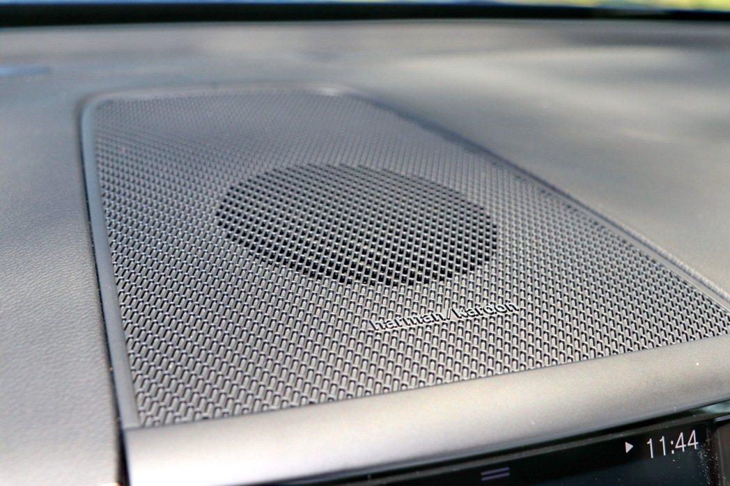 Harman Kardon音響系統已經是全車系標配。 記者陳威任/攝影