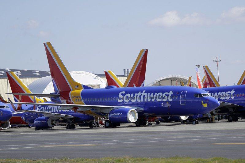 西南航空成全球最大航空公司。美聯社