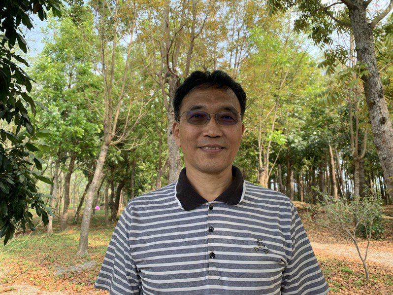 台南市玉井警分局長楊青垂。記者吳淑玲/攝影
