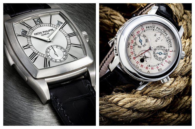 佳士得呈獻亞洲拍賣史上估價最高的單一藏家百達翡麗時計私人珍藏「鈦金屬及紅寶石系列」,將於七月開始上拍。圖/佳士得提供