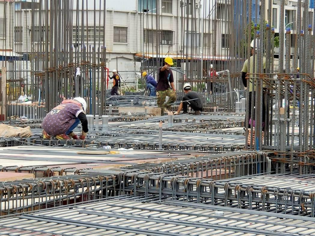 營建業。記者羅紹平/攝影