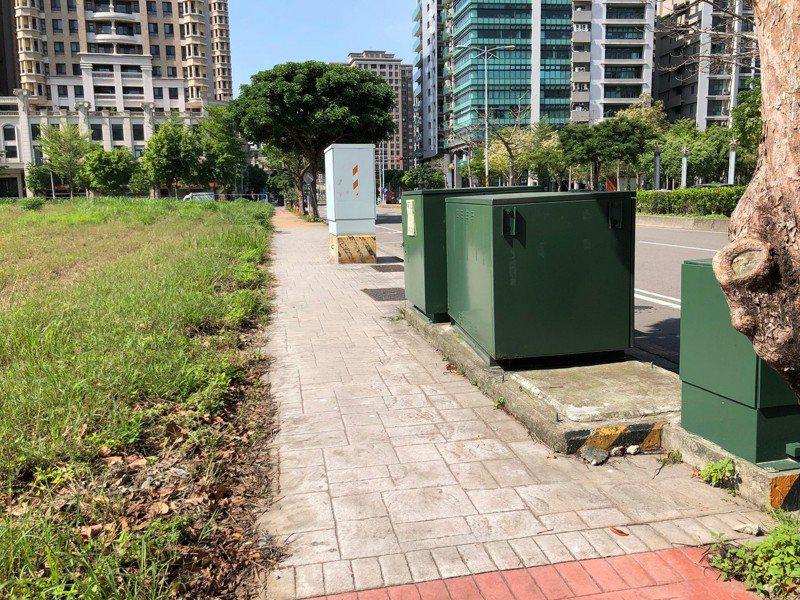 高鐵新竹站後站即將施工改善的嘉豐十一路。圖/新竹縣府提供