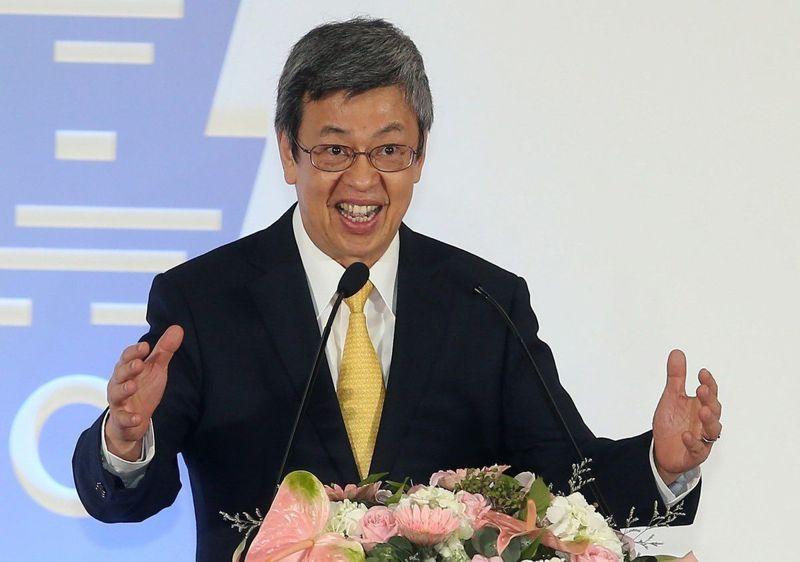 副總統陳建仁。本報資料照片