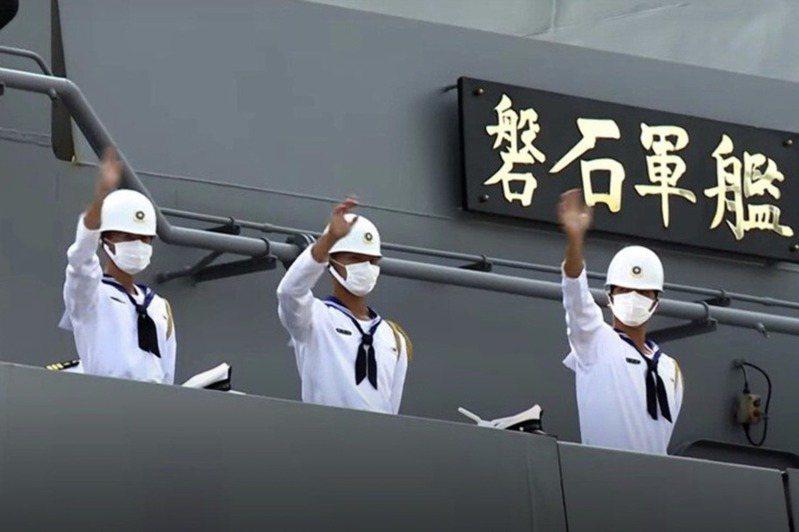 敦睦艦隊今年只造訪帛琉,沒想到目前已有24人確診。圖/軍聞社