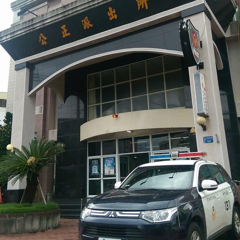 雲林斗六公正派出所前,今天早上傳出聚眾鬥毆事件,警方目前已逮回6人。圖/擷取至公正派出所臉書