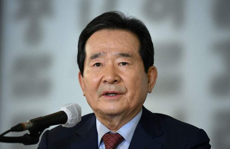南韓總理丁世均。圖/法新社資料照