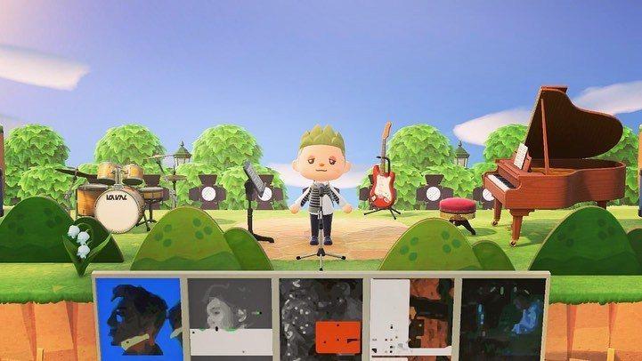 黃偉晉透過線上遊戲舉辦簽唱會。圖/愛貝克思提供