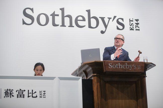香港蘇富比自2018年開始拍賣茅台酒。圖/蘇富比提供