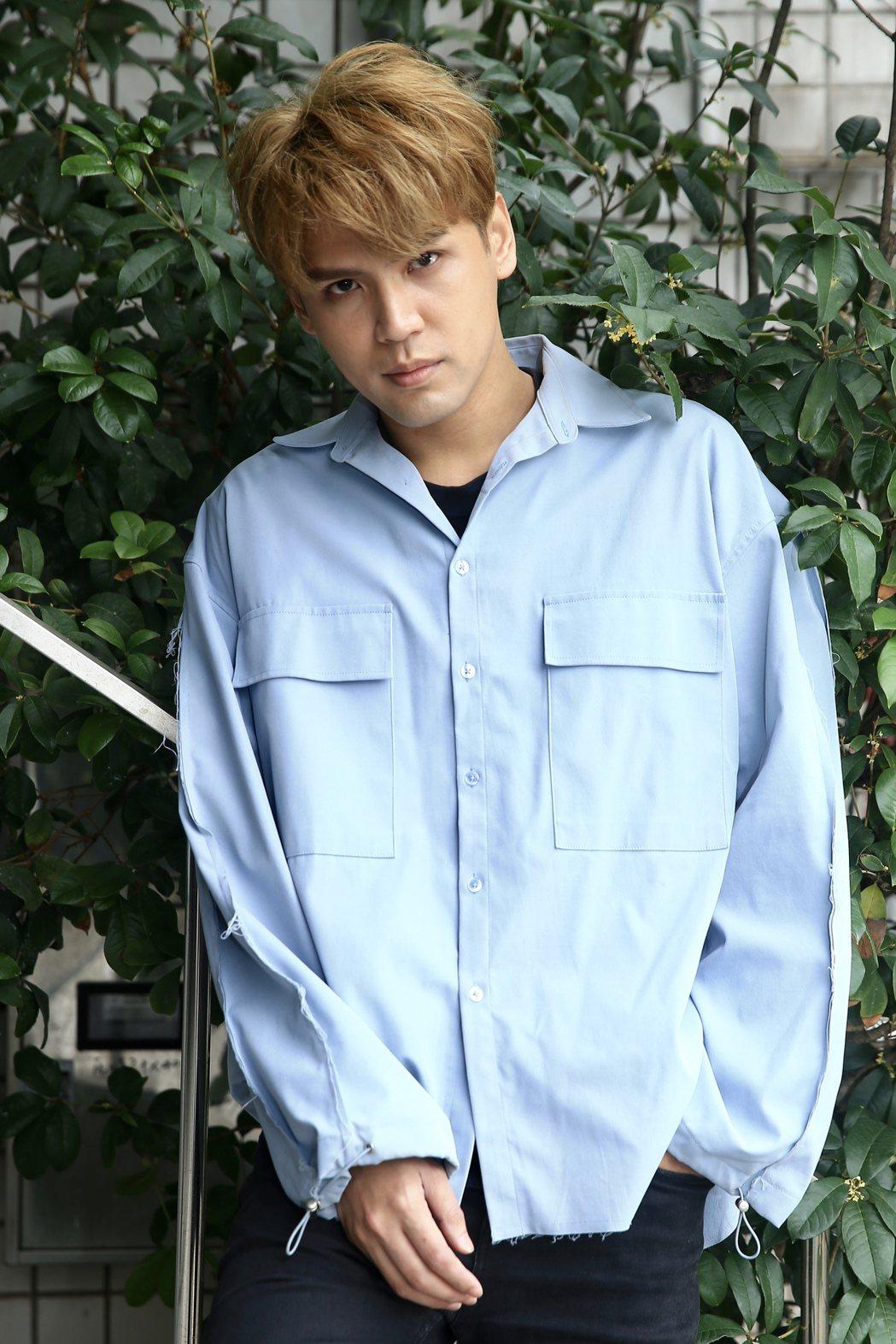 網友形容陳零九是「被狼人殺耽誤的創作歌手」。記者林伯東/攝影