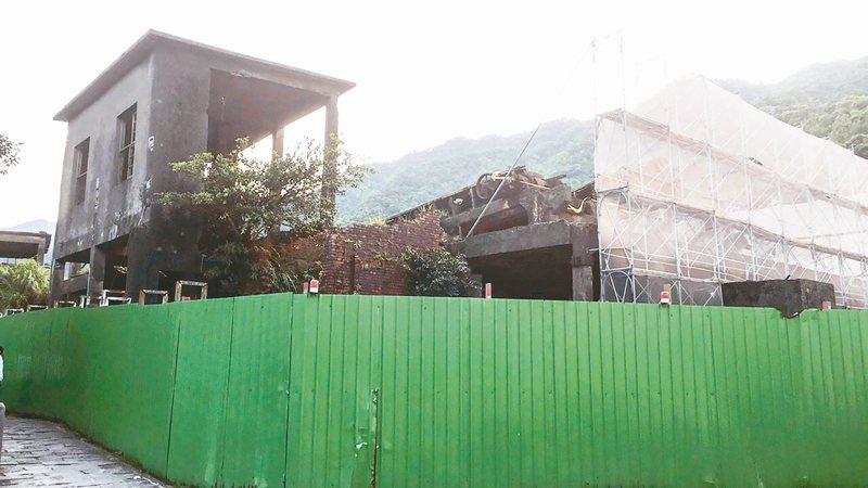 新北瑞芳猴硐地區的瑞三選煤廠修復工程,拚2022年完成主體及全台第一座電貨梯的修復,並且對外開放。 圖/新北觀旅局提供