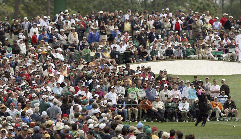 PGA訂6月重啟賽程。(圖為去年名人賽) 美聯社