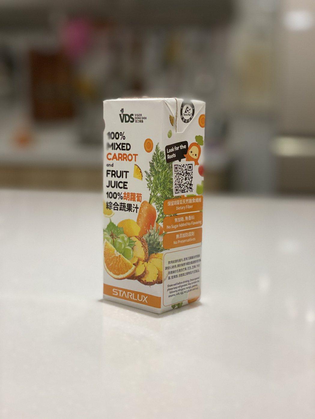 星宇航空專屬經濟艙飲品「100%胡蘿蔔綜合蔬果汁」爆紅,只能在星宇航空機上或至「...