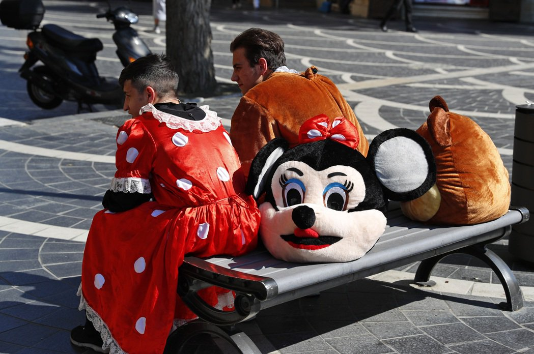 圖為示意圖,非迪士尼官方樂園。 圖/美聯社